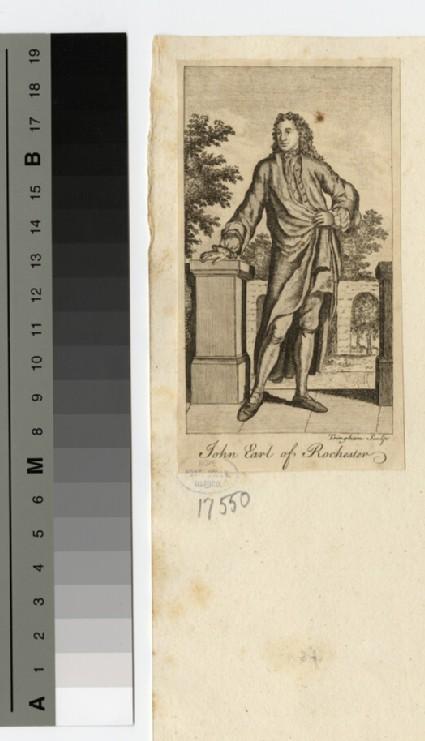 Portrait of Earl Rochester