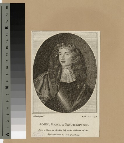Portrait of John Wilmot, 2nd Earl of Rochester