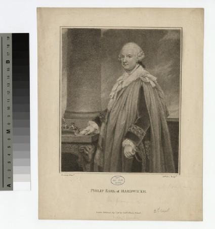 Portrait of Philip Yorke, 2nd Earl of Hardwicke