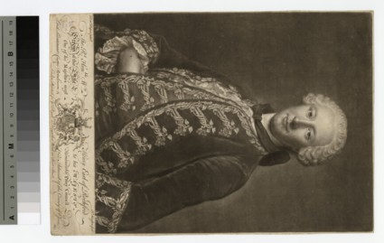 Portrait of William Nassau de Zuylestein, 4th Earl of Rochford