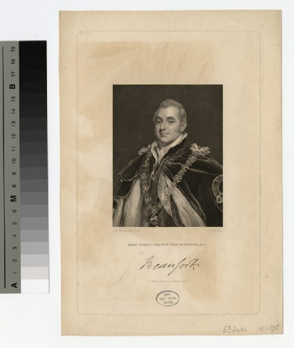 Portrait of Henry Somerset, 6th Duke of Beaufort