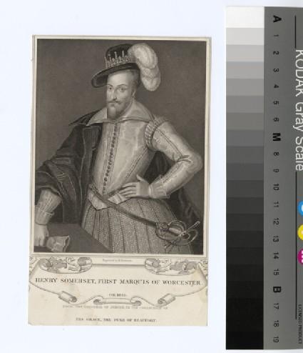 Portrait of 1st Marquis Worcester