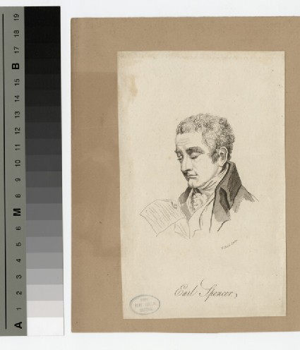 Portrait of George Spencer, 2nd Earl Spencer