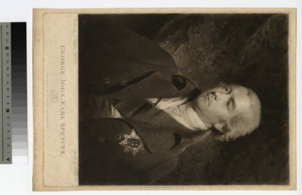Portrait of Earl Spencer
