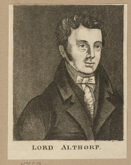 Portrait of Lord Althorp