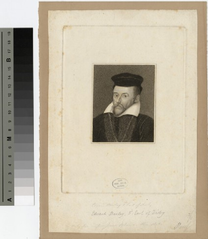 Portrait of Edward Stanley, 3rd Earl of Derby