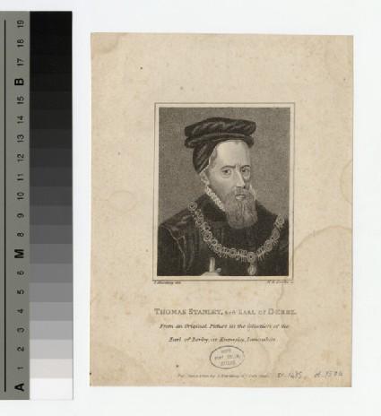 Portrait of Thomas Stanley, 1st Earl of Derby