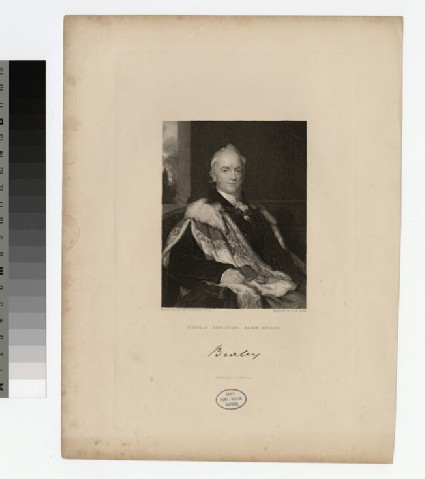 Portrait of Lord Bexley