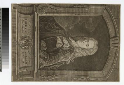 Portrait of Richard Temple, 1st Viscount Cobham
