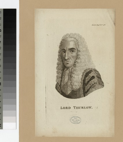 Portrait of Lord Thurlow