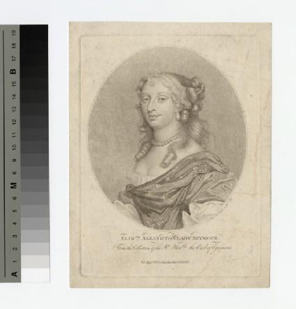 Portrait of Elizabeth Allington, Lady Seymour