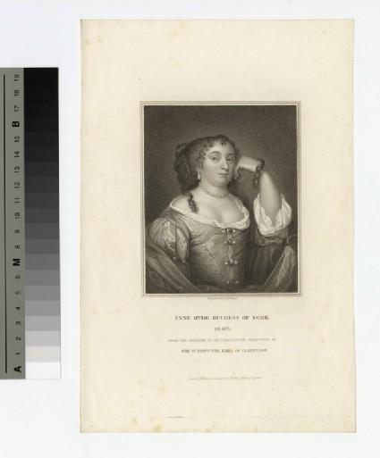 Portrait of Anne Hyde, Duchess of York