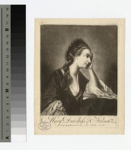 Portrait of Duchess Ancaster