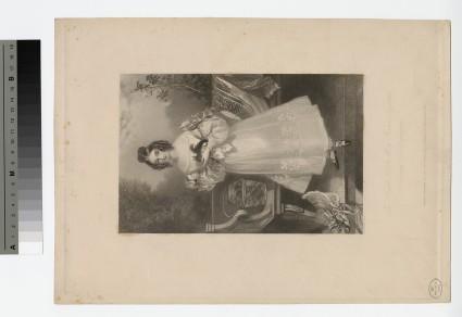 Portrait of baroness Le Despencer