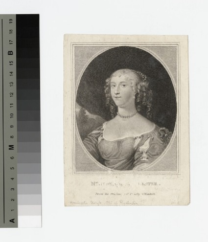 Portrait of Countess Rochester