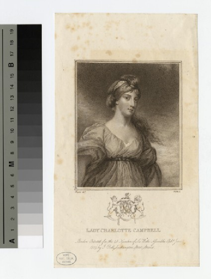Portrait of Lady Charlotte Campbell