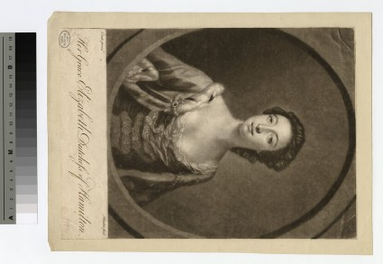 Portrait of Duchess Hamilton