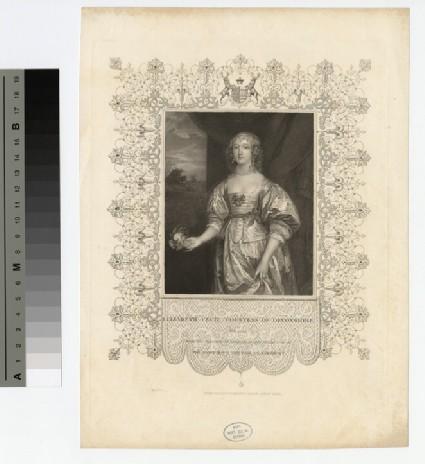 Portrait of Countess Devonshire