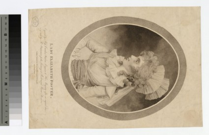 Portrait of Lady Elizabeth Foster