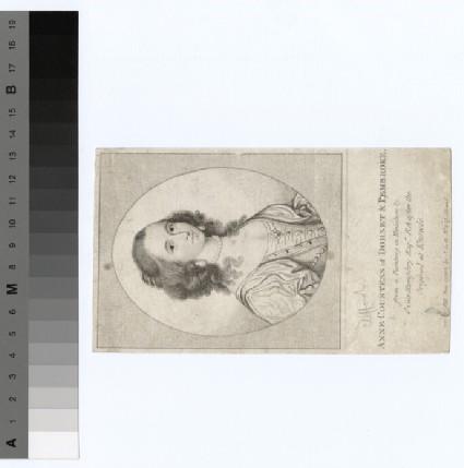 Portrait of Countess (Clifford) Dorset and Pembroke