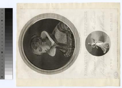 Portrait of Rosamund Clifforde