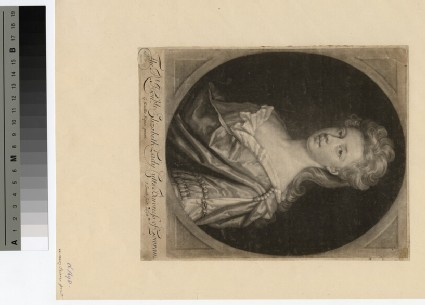 Portrait of Lady Cutts
