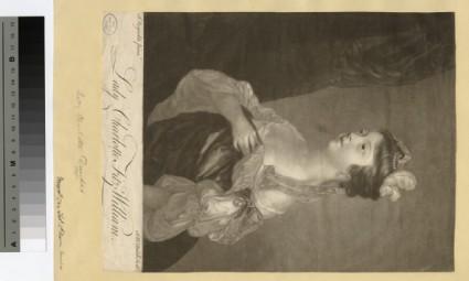 Portrait of Lady Charlotte Fitzwilliam