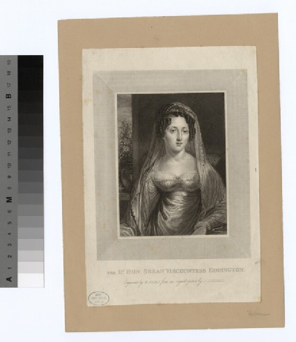 Portrait of VisCountess Ebrington