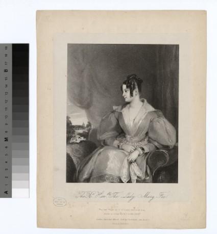 Portrait of Lady Mary Fox