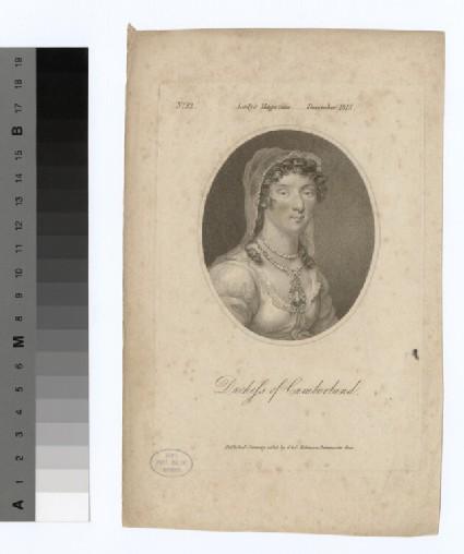 Portrait of Duchess Cumberland