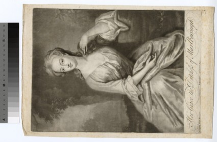 Portrait of Duchess of Marlborough