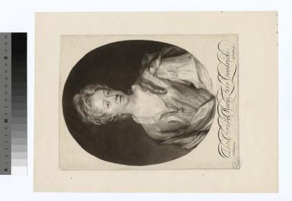 Portrait of Mary Lady Goodricke