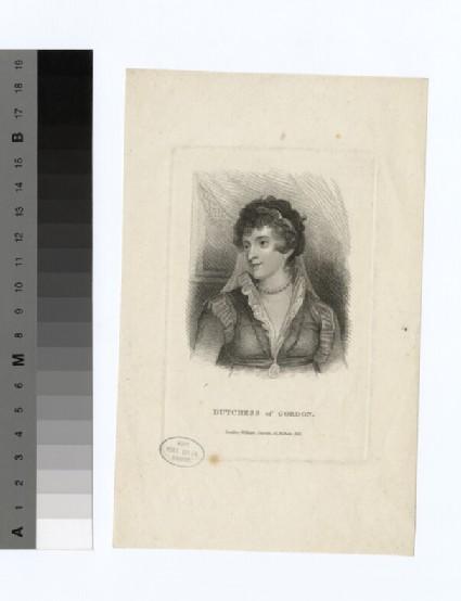 Portrait of Duchess Gordon