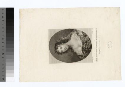 Portrait of Miss Hamilton, later the Countess de Gramont