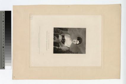 Portrait of Marguerite, Countess of Blessington