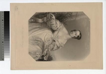 Portrait of Lady Flora Hastings