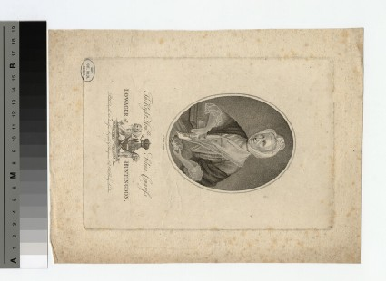 Portrait of Countess Huntingdon