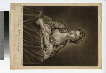 Portrait of Lady Selina Hastings