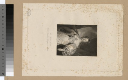 Portrait of Countess Nelson Duchess of Bronte