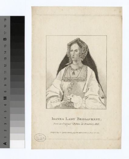 Portrait of Lady Bergavenny