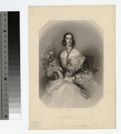 Portrait of Hon. Mrs O'Callaghan