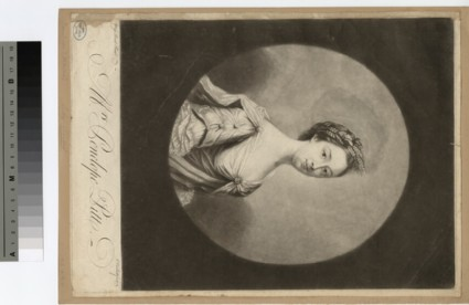 Portrait of Mrs P. Pitt