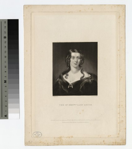 Portrait of Lady Louth