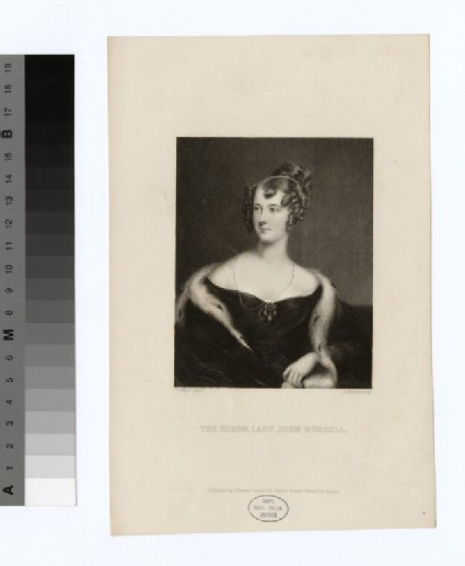 Portrait of Lady John Russell