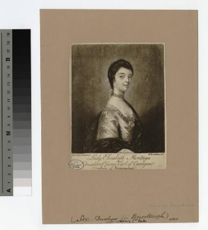 Portrait of Lady Elizabeth Montagu