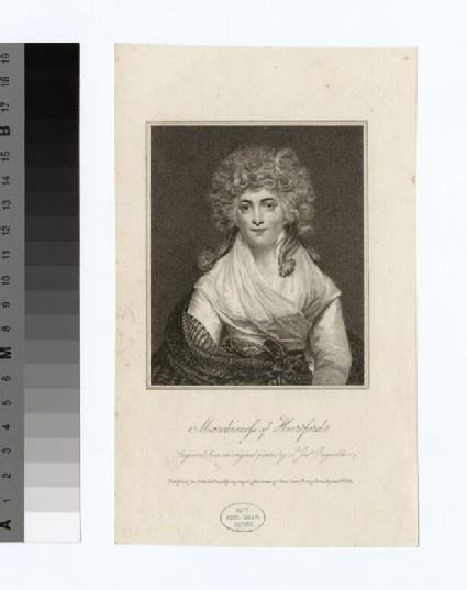 Portrait of Marchioness Hertford