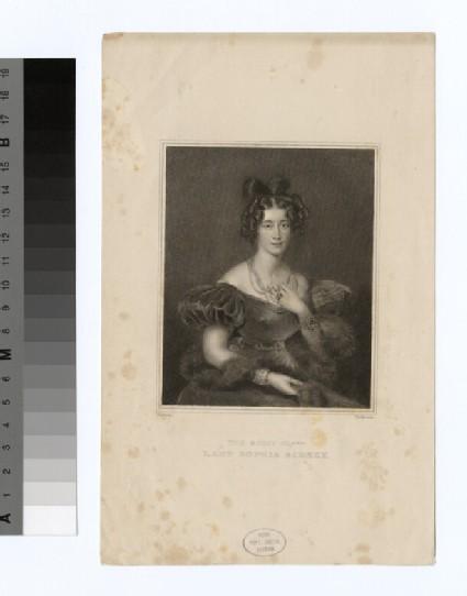 Portrait of Lady Sophia Sidney