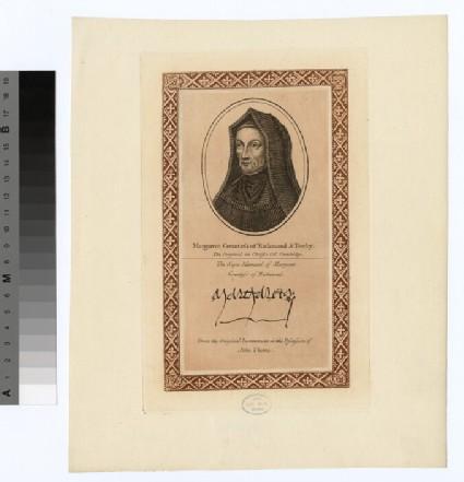 Portrait of Margaret Countess Richmond
