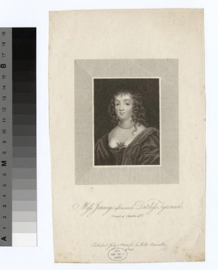 Portrait of Miss Jennings