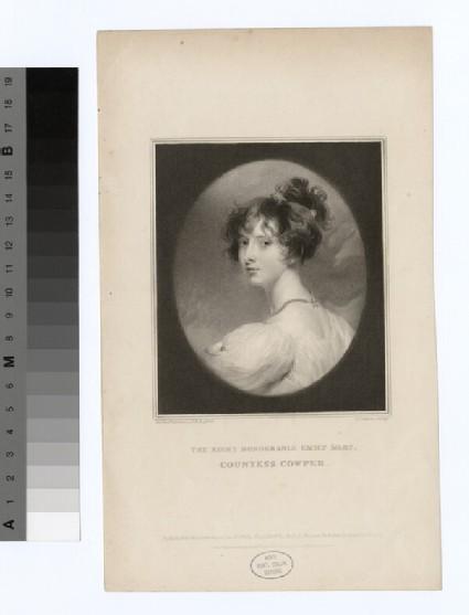 Portrait of Countess Cowper